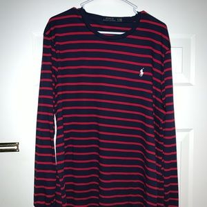 Polo Ralph Lauren Striped Shirt Size XL